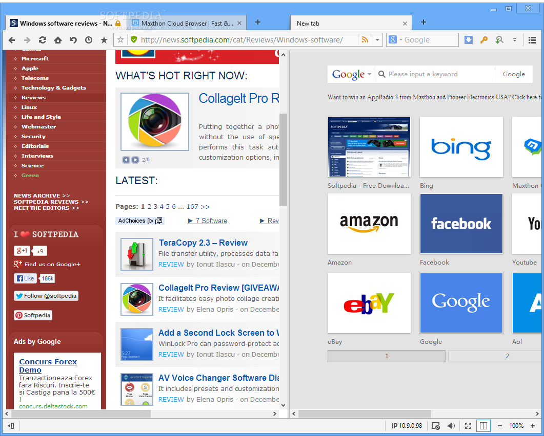 Maxthon Cloud Browser Review