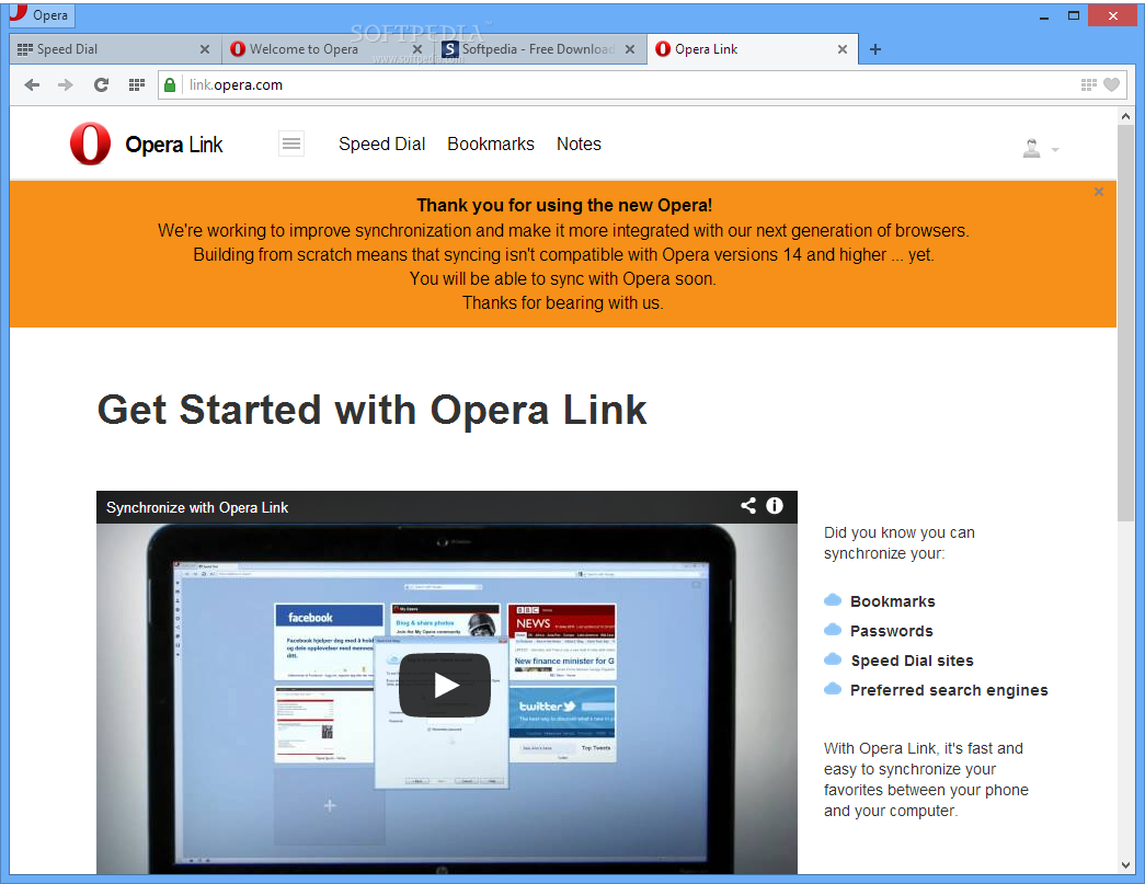Re)Discover Opera Browser