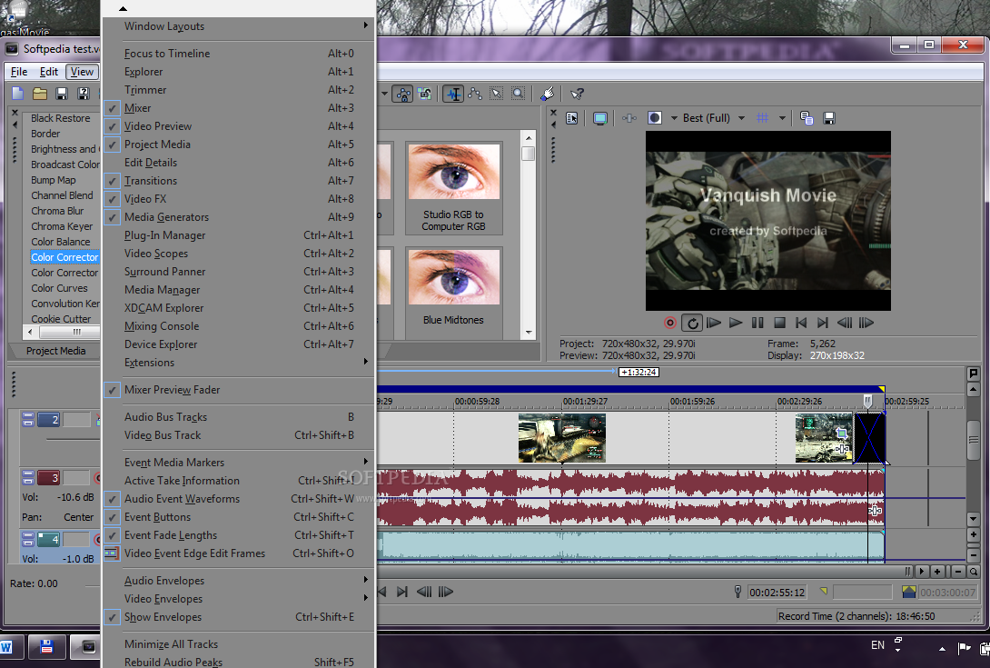 Sony vegas pro 10 review for Sony vegas effects download