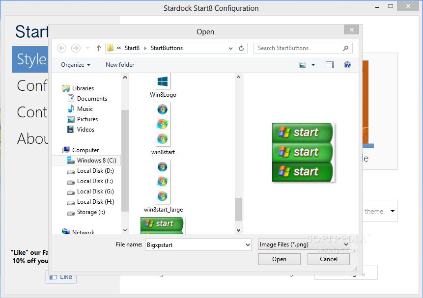 Restore Start Button in Windows 8
