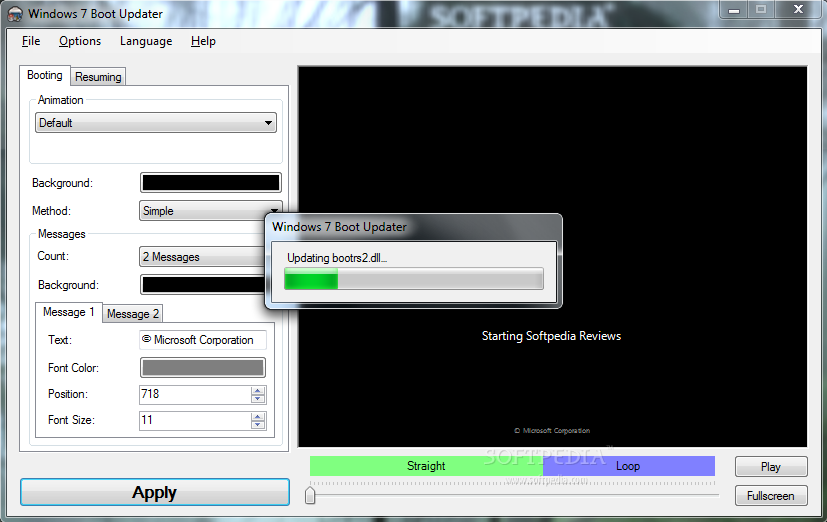 Change Windows 7 Boot Screen