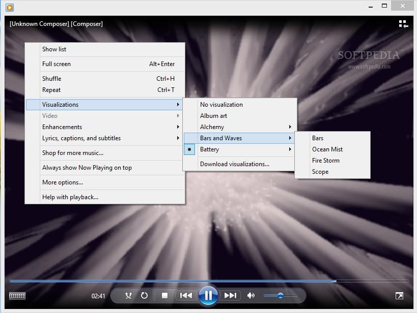 windows media player 12 setup file free