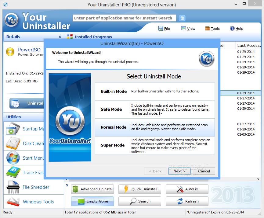 скачать программу Your Uninstaller - фото 10