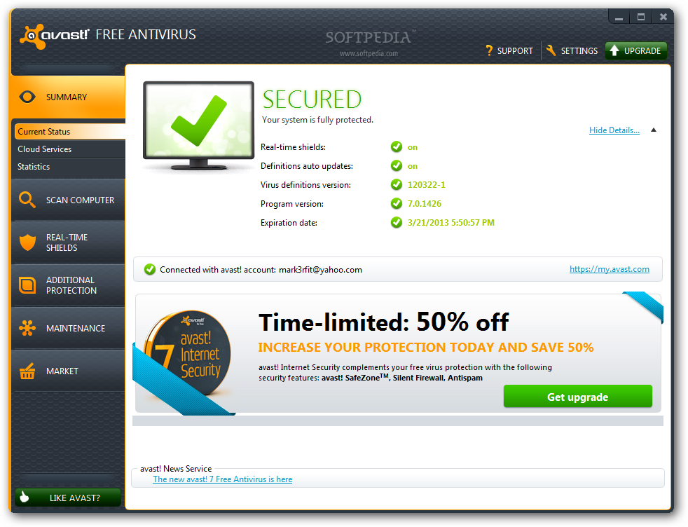 Avast Pro Antivirus 30 Days Trial Review