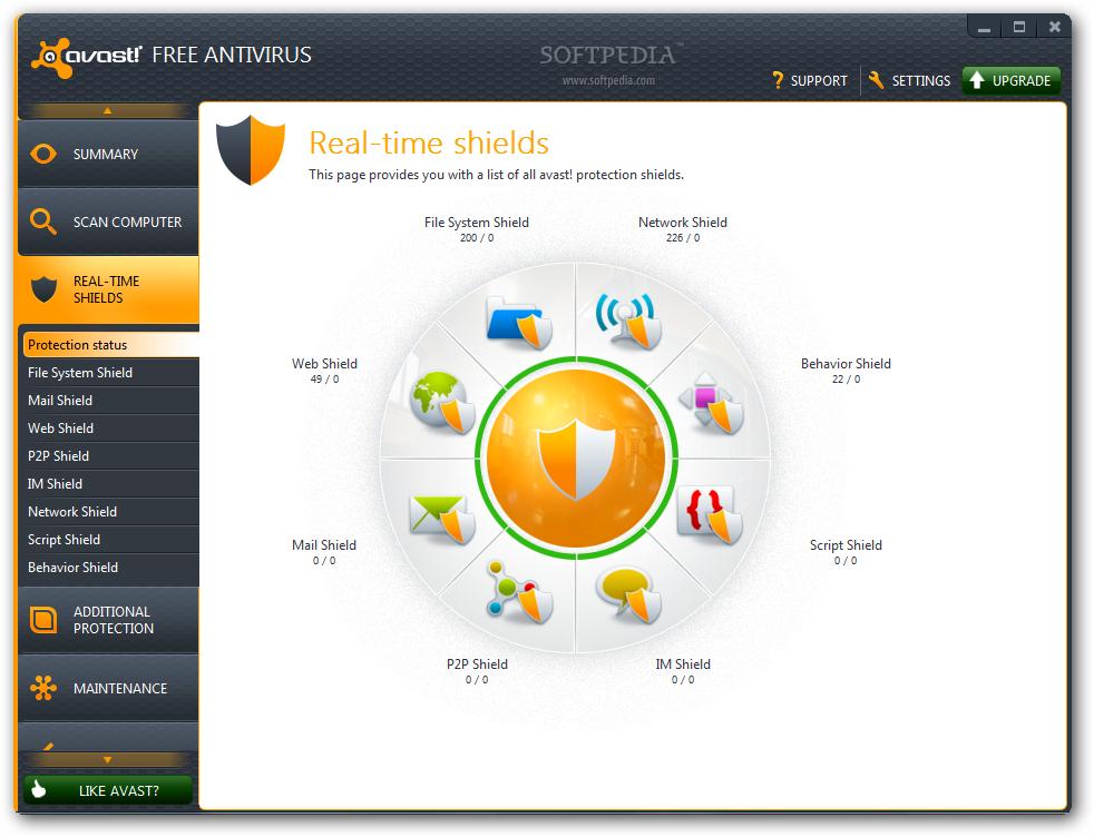 avast! Free Antivirus 7 Stable
