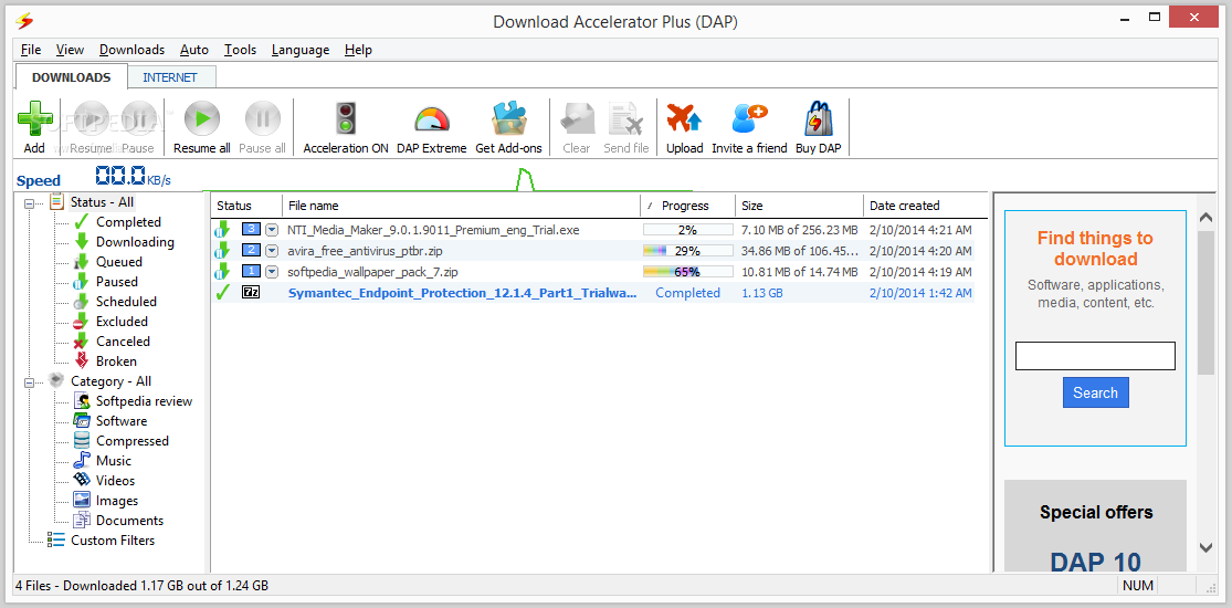 download accelerator plus dap 10 full version