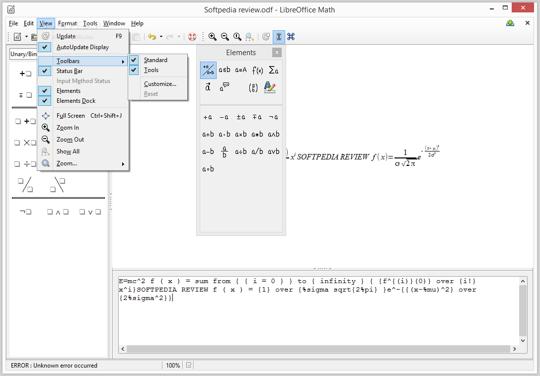 libreoffice writer paper size