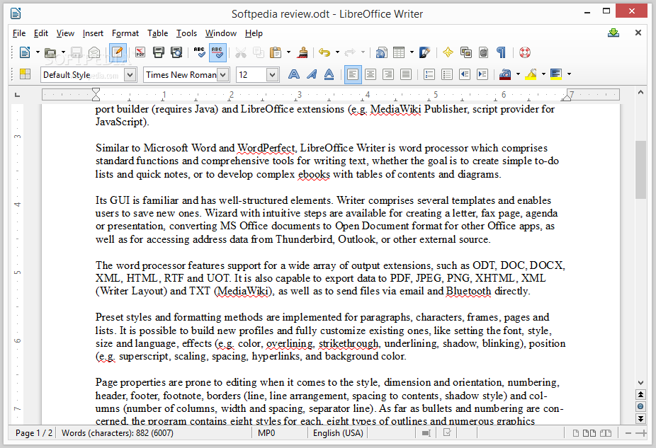 Libreoffice writer review showing the libreoffice writer interface spiritdancerdesigns Image collections