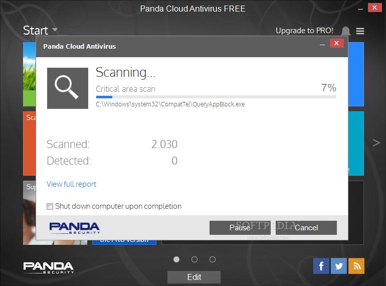 Panda Cloud Antivirus Free 3 Review