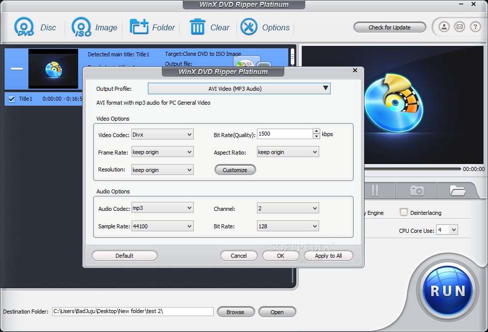 WinX DVD Ripper Platinum Review