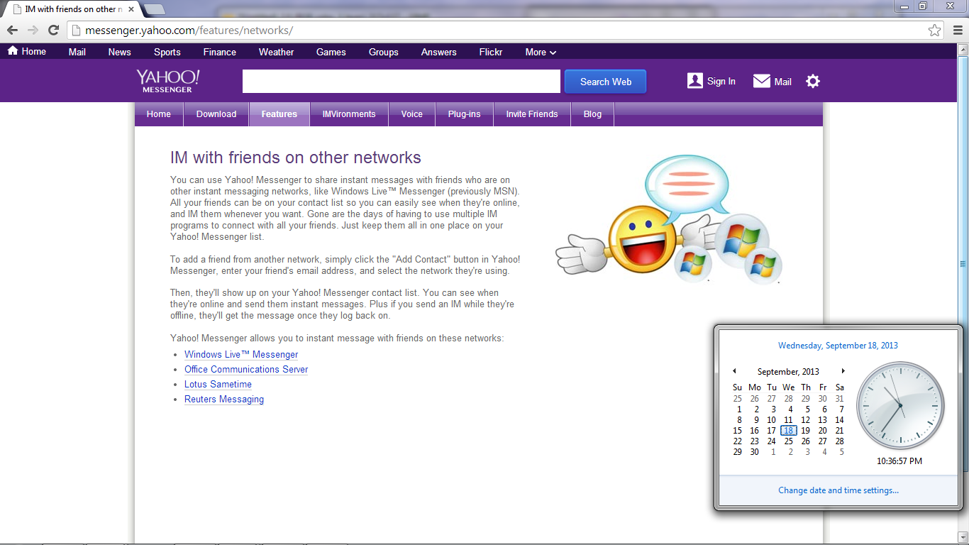 windows live chat rooms yahoo messenger 11 review 17433