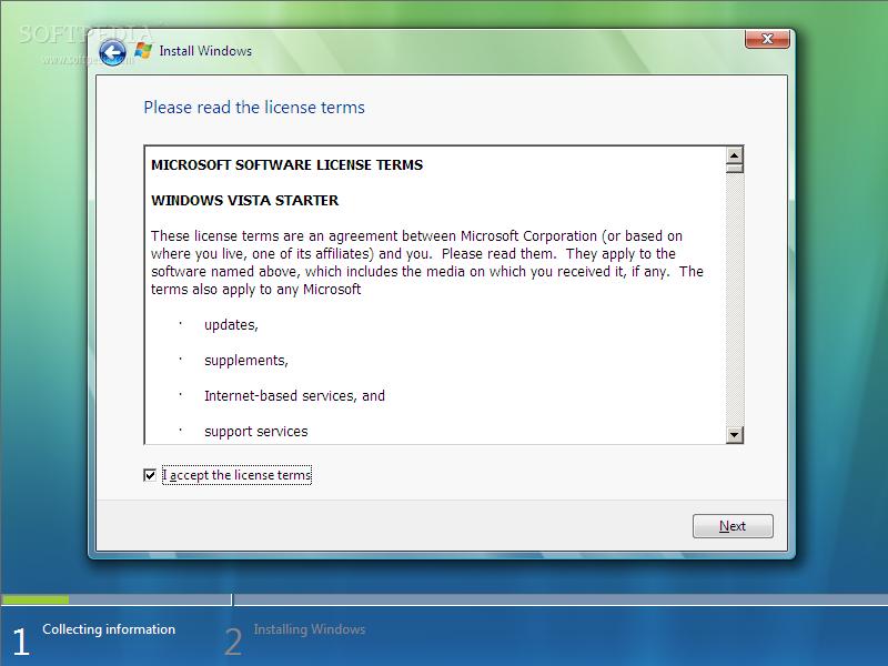 Minimum System Requirements For Windows Vista Starter