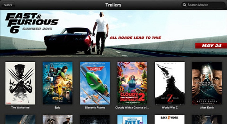 Apple Trailers Up Itunes Movie Trailers