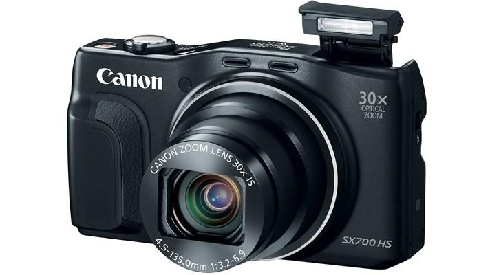Ya está aquí la cámara compacta PowerShot SX700 HS con súper zoom