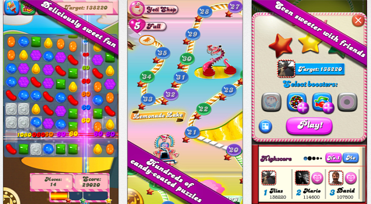 candy crush saga para ios el famoso juego candy crush saga tiene ahora