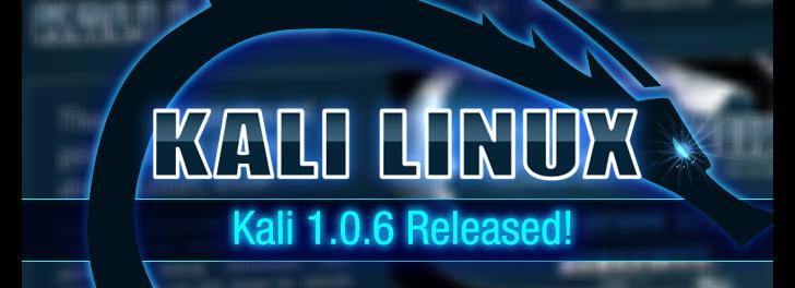 Kali Linux 1.0.6 fue lanzado con la función de autodestrucc