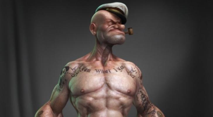 Asi Seria Popeye En La...