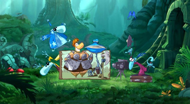 [N3DS] Rayman Origins PAL Multi5 Español DF