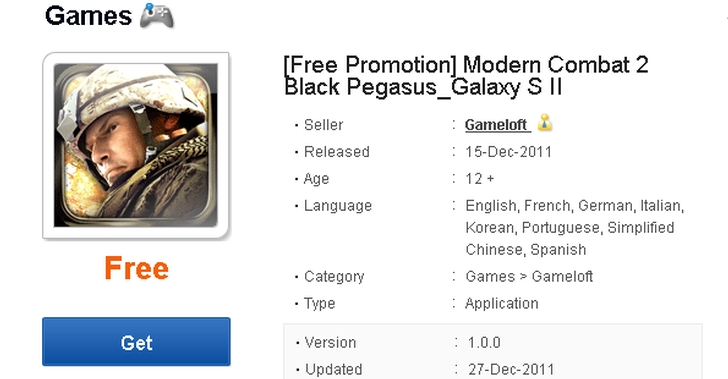 II pueden descargar gratis 'Modern Combat 2: Black Pegasus