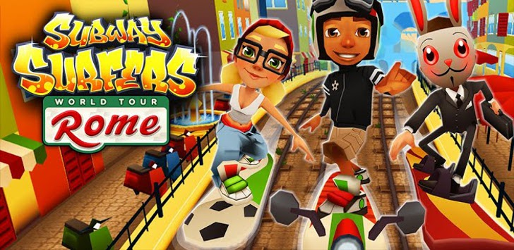 Subway Surfers para Android añade Roma a su World Tour