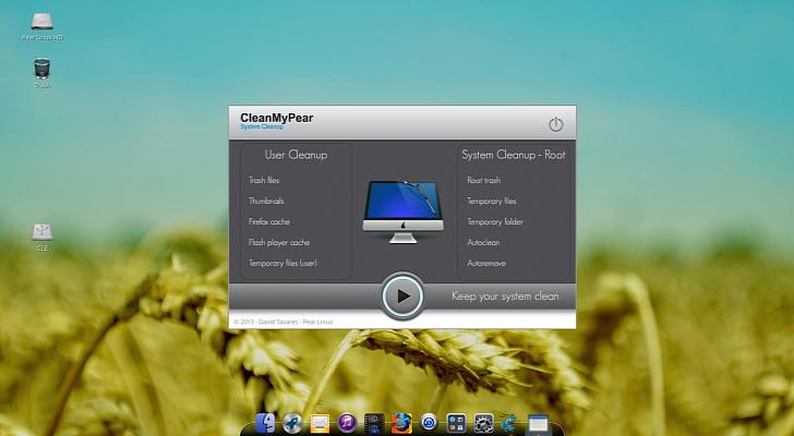 Pear Linux 7 OS se basa en Ubuntu 12.10; no usa Unity ni....