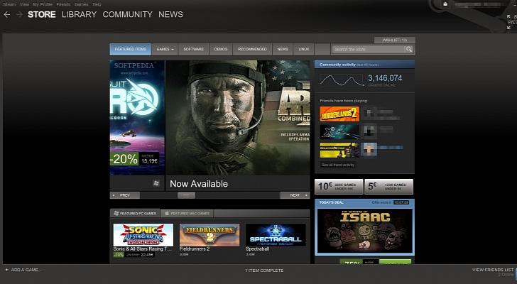 Valve lanza una nueva versión Beta de Steam para Linux con