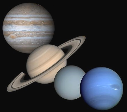 all four gas giants - photo #4