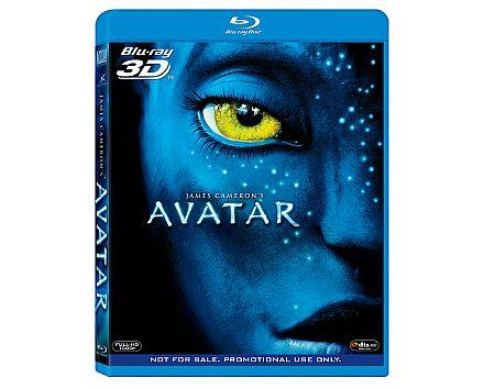 Avatar 3d blu ray disc version bundled with panasonic viera full hd 3d