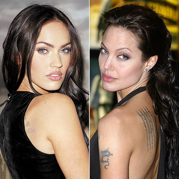 angelina jolie megan fox