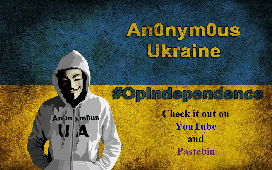 Anonymous Ukraine announces Operation Independence