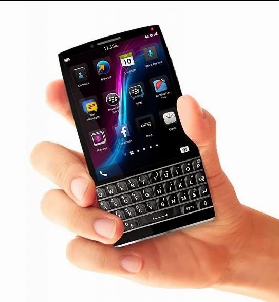 Blackberry Q40 Concept Phone Features A Sleek Qwerty