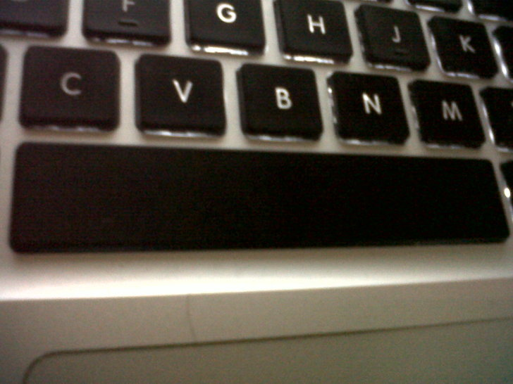"""Bump Your Spacebar Key with Your iPhone, """"Seriously, It's ..."""