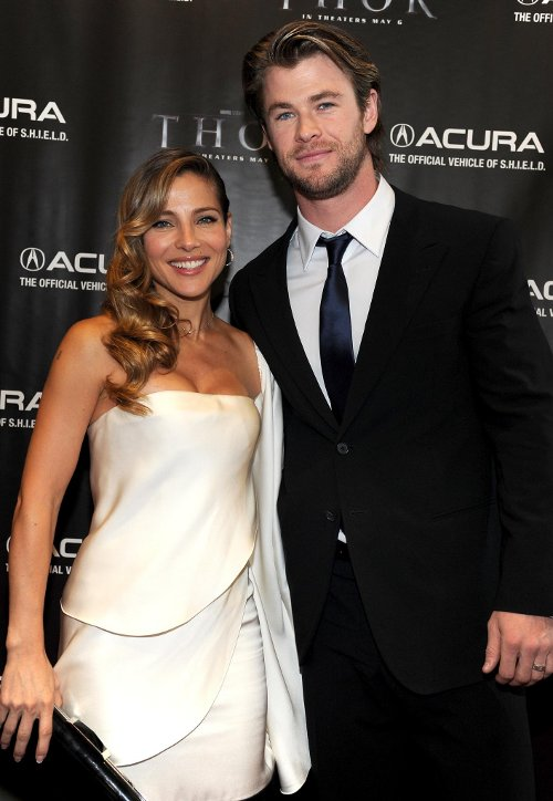 "Chris Hemsworth's Wife Elsa Pataky Appeared in ""Thor 2 ..."