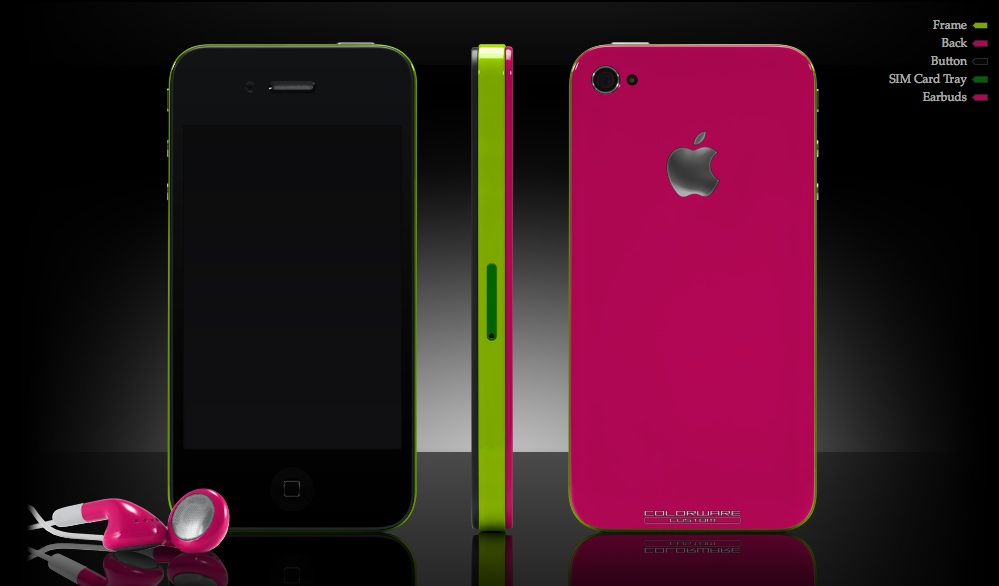 ColorWare Impresses With New IPhone 4 Customization