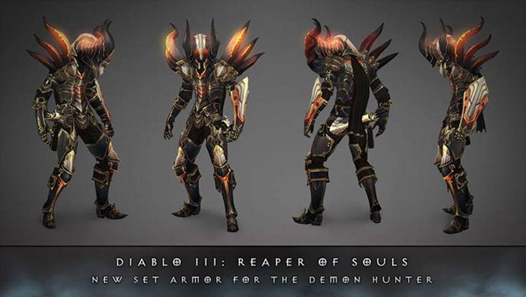 Diablo 3 Reaper of Souls Demon Hunter Armor Revealed, More Promised ...