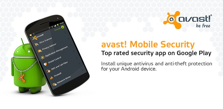 Download Avast Antivirus for Android 2.0.4304