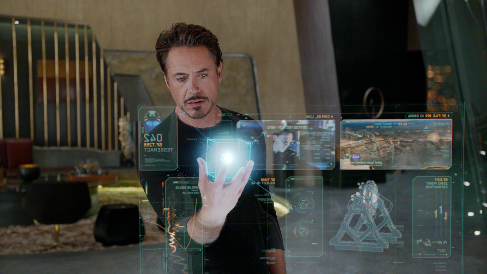 Elon Musk Is Building Iron Man's Holographic Computer in ... Iron Man Holographic Computer