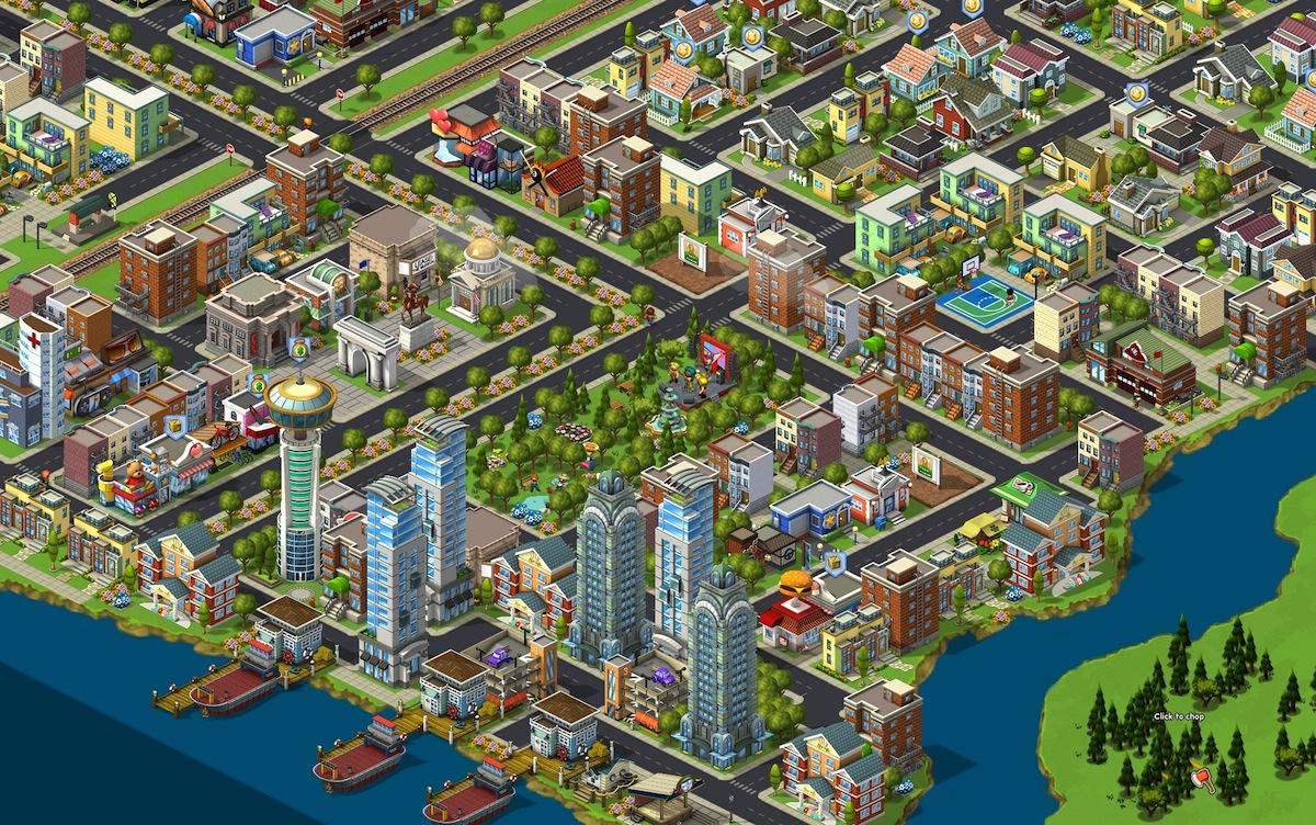 Facebook CityVille Game