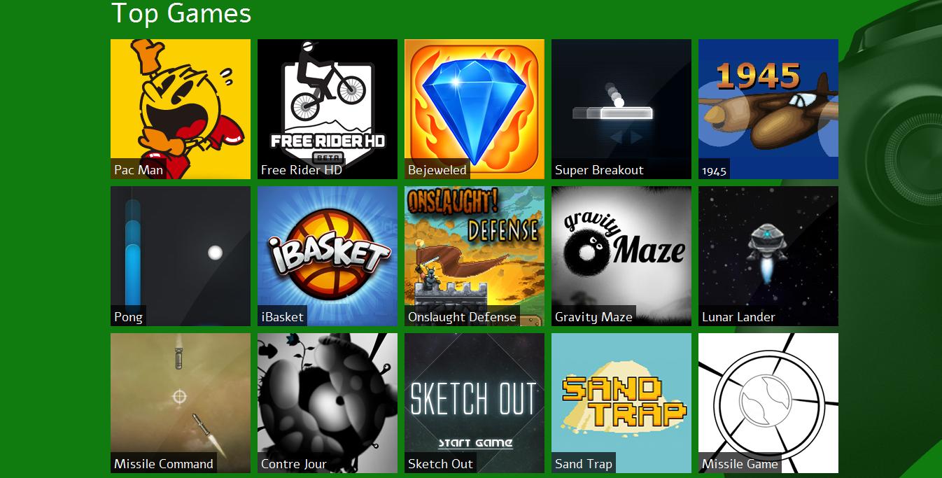 free games on internet explorer