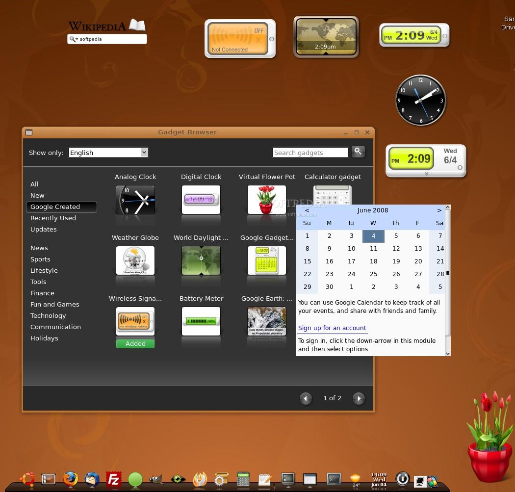 Rilasciato Google Gadget For Linux Installiamolo Su