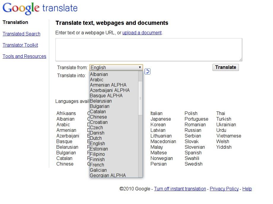 Urdu Goes High Tech: Google Translation for Urdu Language