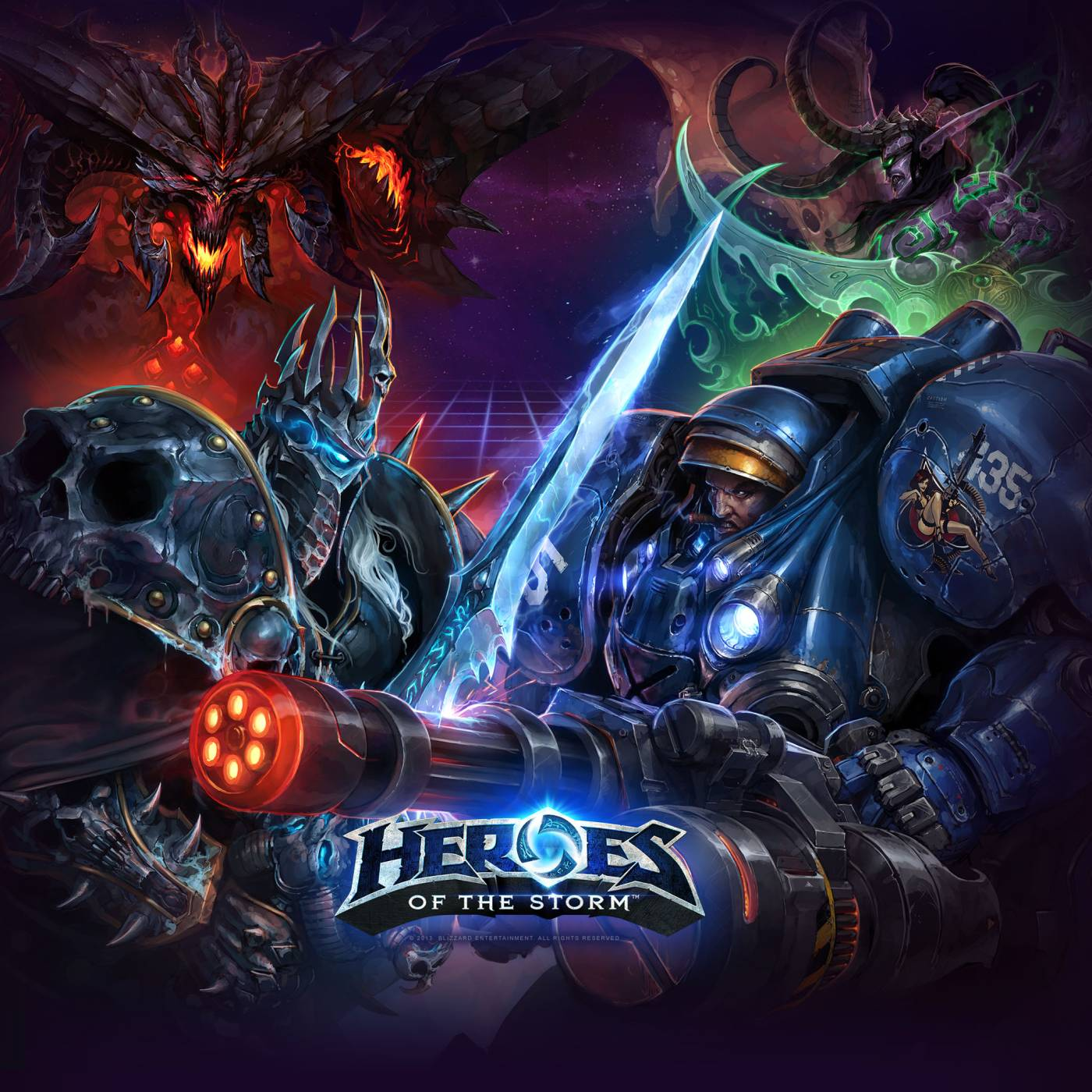Heroes of the storm can beat league of legends or dota 2 - Heroes of the storm phone wallpaper ...