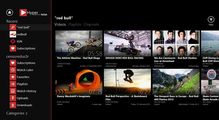 приложение ютуб для Windows 8 скачать бесплатно - фото 5
