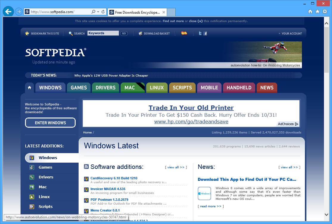Internet Explorer 10 Is the Best Browser for Windows 8 ...