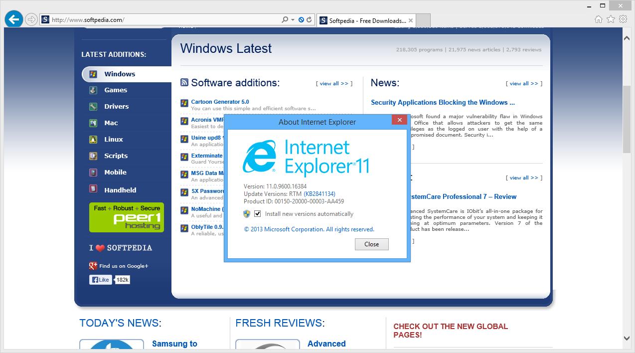 Internetexplorer 11