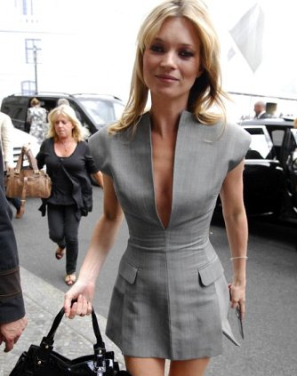 Kate Moss promotes her new fragrance in Berlin