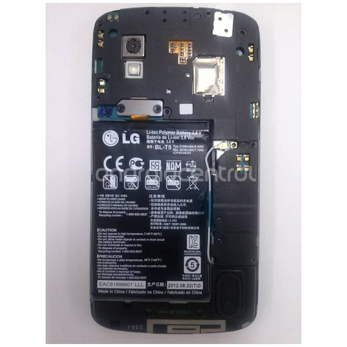 LG Nexus 4's Internals Unveiled in New Leaked Photo ...