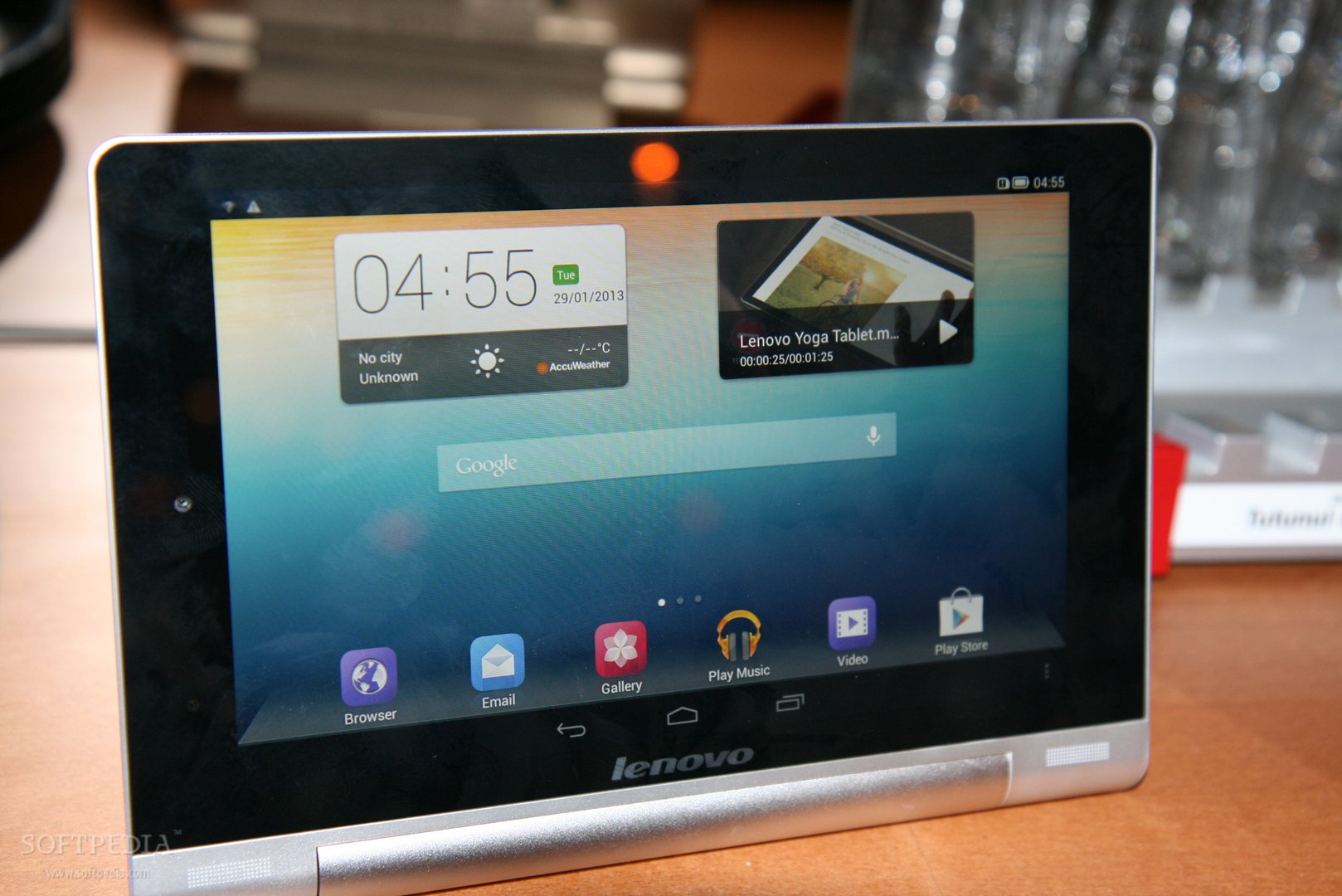 Lenovo Yoga Tablet Hands On Photo Gallery Softpedia