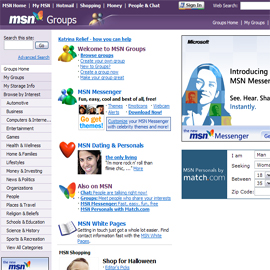 No More Adult Discussion Groups on MSN. By Tudor Raiciu | 2005-09-22 08:26 ...