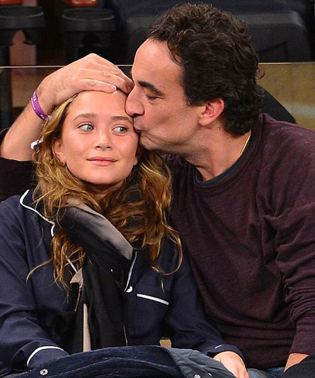 Mary-Kate Olsen And Olivier Sarkozy Put On Public Display